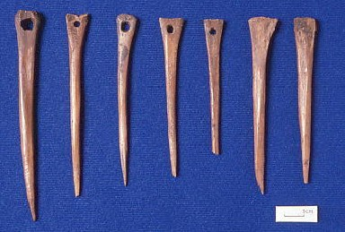 coppergate Antler needles 9th-10th